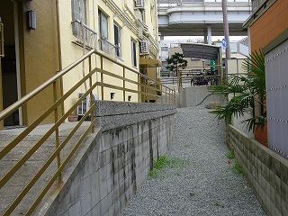 改修後南側空き地