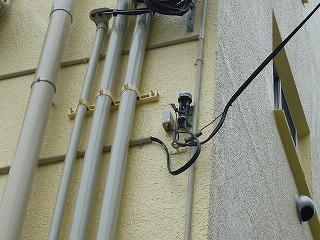 改修後ケーブルテレビの引き込み