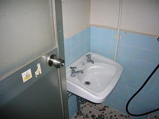 改修前洗面所