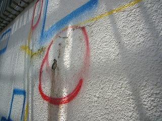 改修前外壁の検査