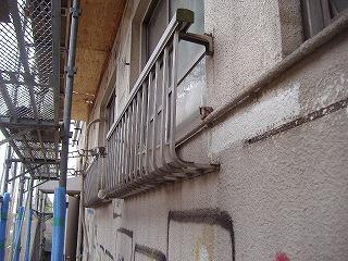 改修前南側窓
