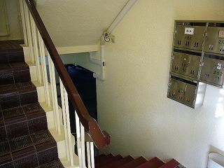 改修後西側階段
