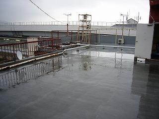 改修前の屋上