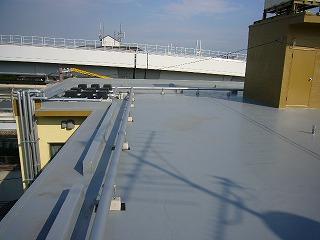 改修後の屋上
