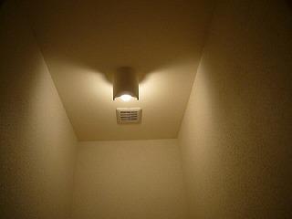 改修後トイレ照明