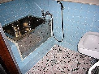 改修前Dタイプ風呂
